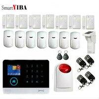 Smartyiba Wi Fi GSM сигнализация Системы S Android IOS APP сигналы тревоги охранных Системы Бесплатная доставка