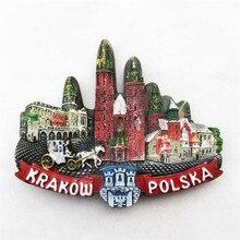 Poland Emblem Kitchen Magnet Emblem Fridge Magnet 3D Printed Magnet Locker Decor Black Magnet Polska Kotwica Refrigerator Magnet Black