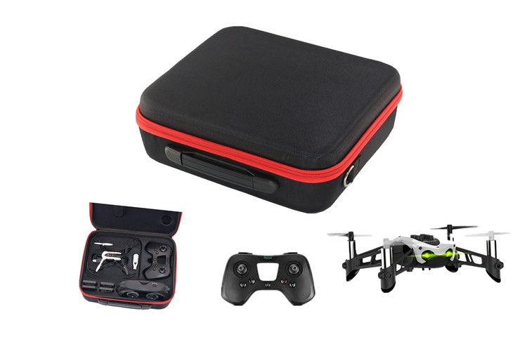 Portable RC Drone Carrying Bag Case Storage Bags Handbag Carrier Box w Inner for Parrot Mambo FPV Mission Fly Accessories spark storage bag portable carrying case storage box for spark drone accessories can put remote control battery and other parts