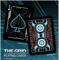100% ORIGINAL Bicycle the grid Deck Playing Cards Best Poker New Bicycle Playing Card Magic Card