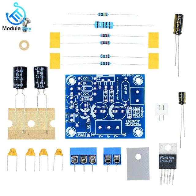 LM1875T Mono Bảng Mạch Khuếch Đại Âm Thanh Stereo Âm Thanh HIFI Ban cho Arduino DIY Bộ Loa Preamp