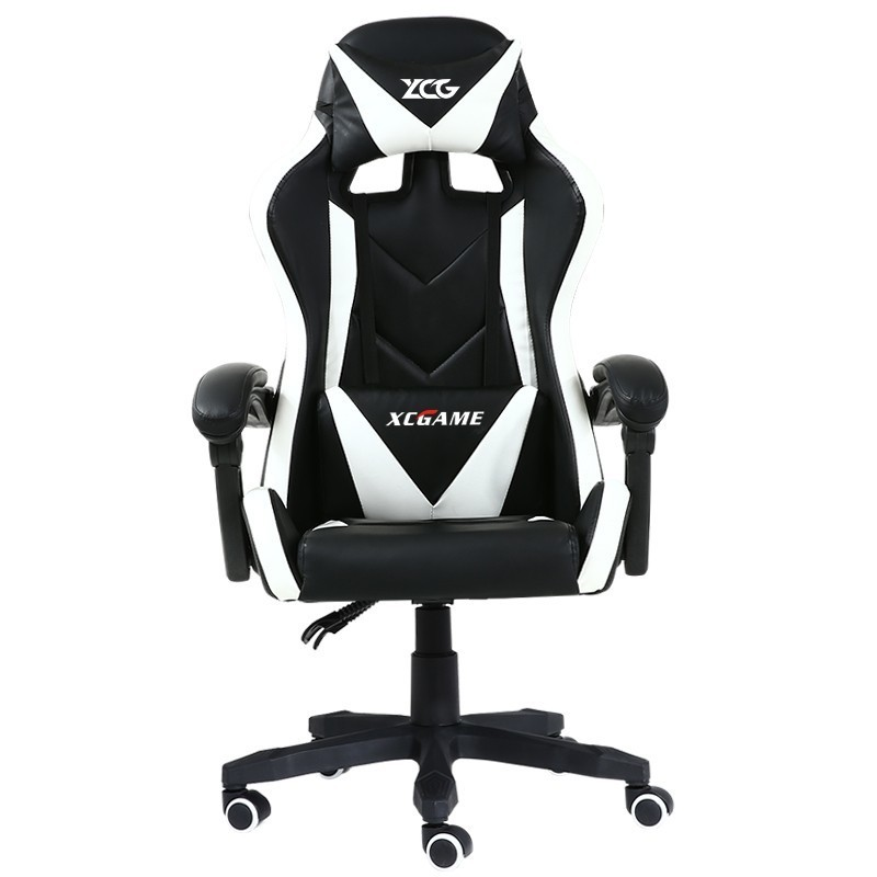 High Quality Silla Gaming Poltrona Esports Work Chair Massage Synthetic Leather Ergonomics Office Furniture Can Lie Steel Feet