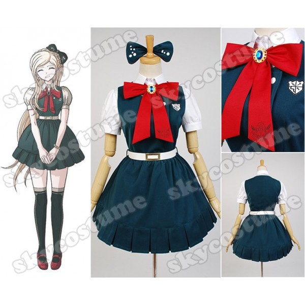 Super Danganronpa 2 Sayonara Zetsubo Gakuen Sonia Nevermind Dress Custom Made Cosplay Costume