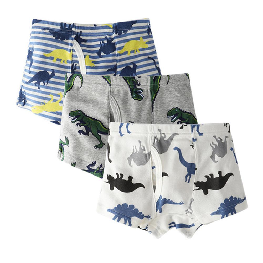 3pcs/set Kids Boys Underwear Children's Shorts Panties 3-10Y Boy Boxer Shorts Soft Cotton Short Underpants Child Clothing