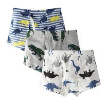 3pcs/set Kids Boys Underwear Childrens Shorts Panties 3-10Y Boy Boxer Soft Cotton Short Underpants Child Clothing