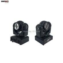 100 Вт Луч Мыть Двойными Бортами RGBW LED Стадии Образца Лампы 15/21 Канал DMX 512 Вращающийся Moving Head для Дискотека партия