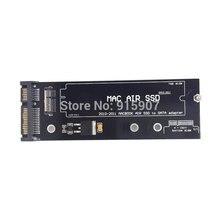 CY 12 + 6pin Cablecc SSD HDD a SATA 22Pin Cartucho de Disco Duro unidad SSD PCBA para 2010 2011 Mac book Air A1369 A1370