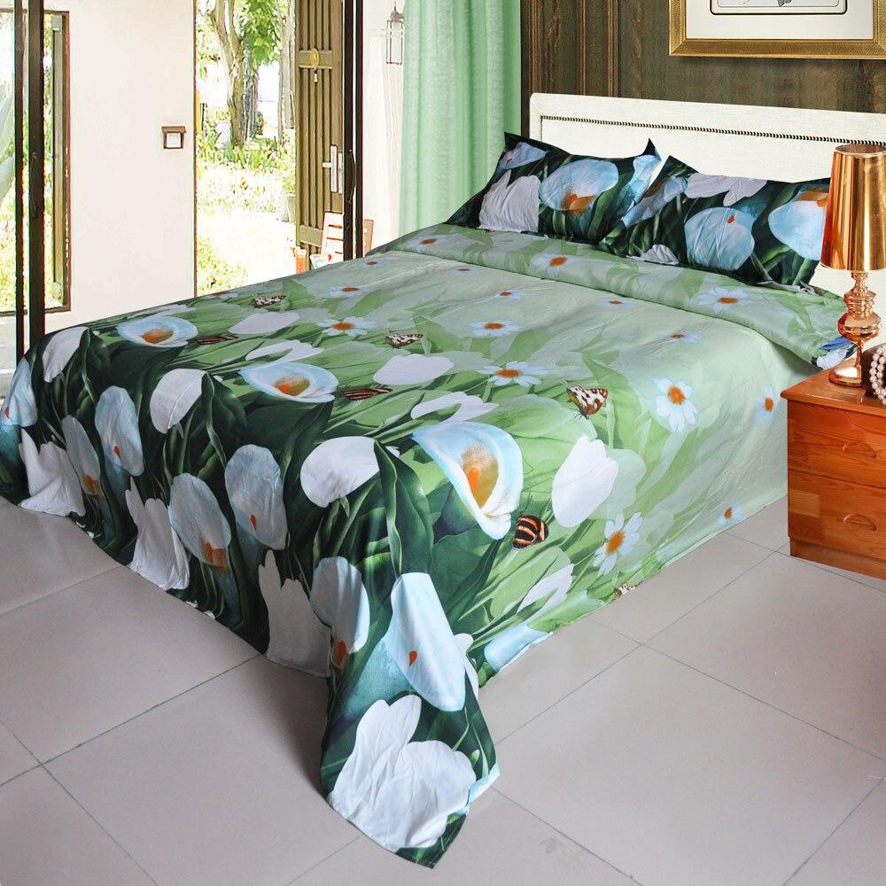 4pcs 3d printed comforter bedding set bedclothes housse de couette queen size duvet coverbed - Queen Size Duvet Cover
