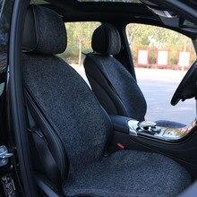 Тонкий дизайн передних сидений автомобиля/Универсальный тканевое сиденье Чехлы для подушек защиты Авто по размеру сидения салонные аксессуары
