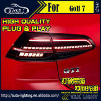 AKD Car Styling Tail Lamp for VW Golf 7 Tail Lights Upgrade for Golf 7.5 LED Tail Light Dynamic Signal DRL Rear Lamp Accessories