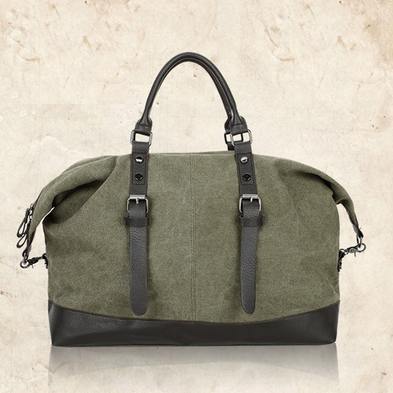 New Casual vintage Multifunctional fashion Canvas Travel Bag unisex Large Capacity Men Hand Luggage classic Travel Duffle Bags