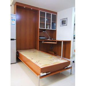 Image 2 - لتقوم بها بنفسك مورفي جدار السرير آلية مع 5 الينابيع مجموعة تجهيز للسرير أضعاف أسفل السرير آلية لسرير 0.9 1.2 متر