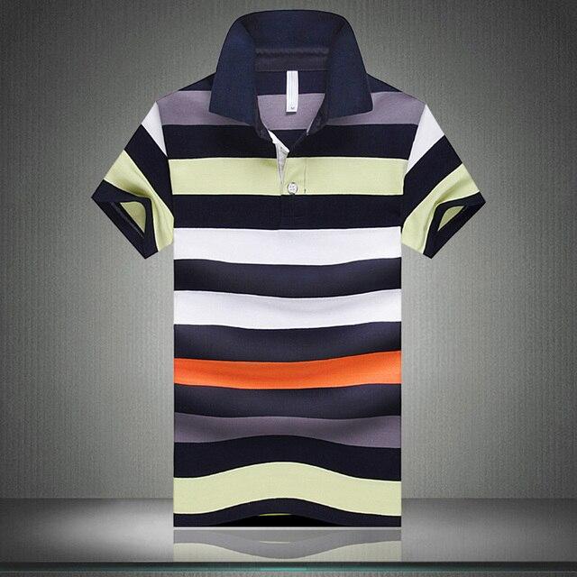 Nuevos 2016 hombres del verano Camisa de Polo de moda de ropa de marca Polo hombre Polo Casual Polo Camisa de manga corta para hombre