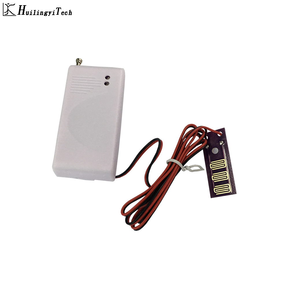 433 MHz Sem Fio Detector de Intrusão Sensor de Vazamento de Água de Trabalho Para GSM PSTN SMS Casa Sistema de Alarme de Segurança Em Casa