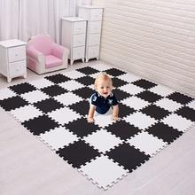 Meikicool для детей, eva пены играть головоломки коврики для детей/Блокировка упражнения плитки половик коврик, каждый 29X29 см, пол плитки