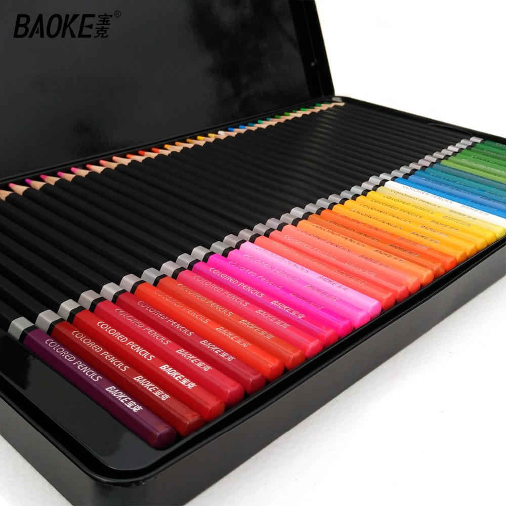 BAOKE Fine Art Colouring Pencils 2