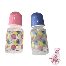 1PC Newest Fashion Simulation Reborn Doll Baby Born Milk Bottle Toy Cute Gift Baby bottle baby born doll accessories(China)