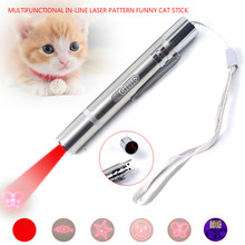 2019New cat toy USB straight laser pattern tease stick check pen pet supplies manufacturers