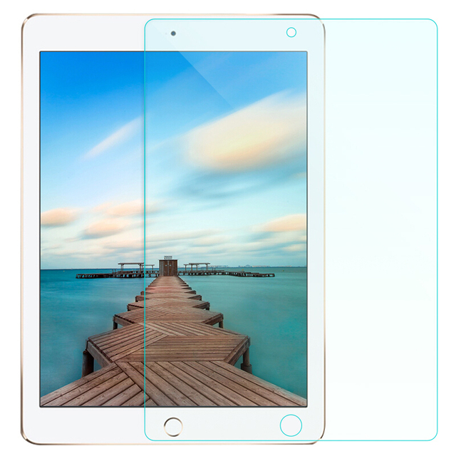 Para IPad 5/6/Pro 9,7 ''película transparente PET a prueba de golpes protector de pantalla Flexible suave PET HD Film protector de pantalla para Ipad de 9,7 pulgadas