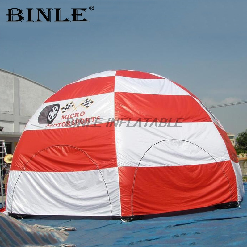 Custom made event station inflatable advertising tent with panels large inflatable lawn party tent air spider tent for saleCustom made event station inflatable advertising tent with panels large inflatable lawn party tent air spider tent for sale
