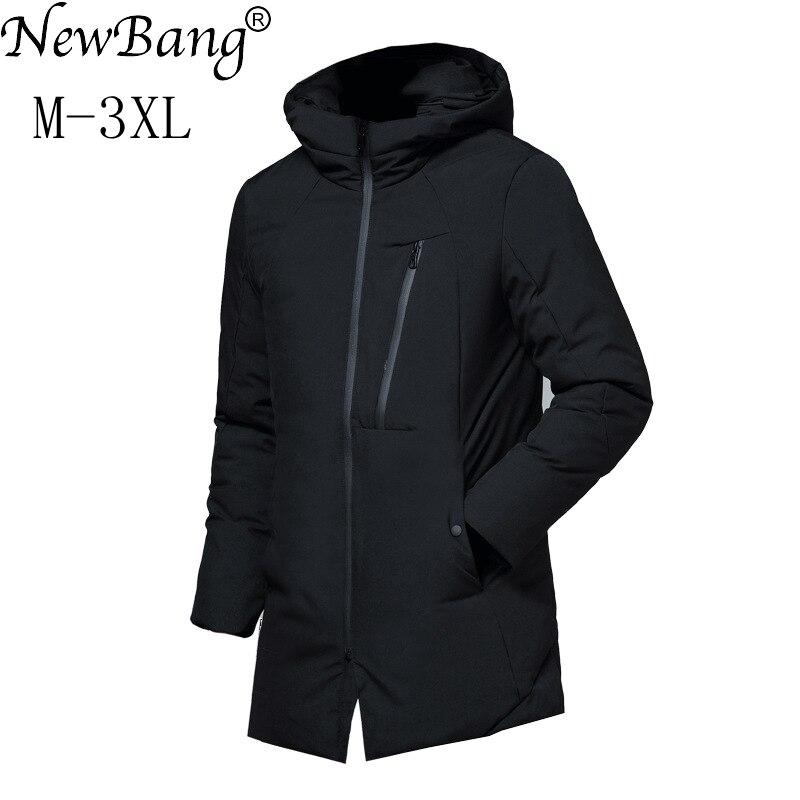 acheter pas cher 36024 a0da8 NewBang hommes Vers Le Bas Veste D'hiver Plume Parka Pour ...