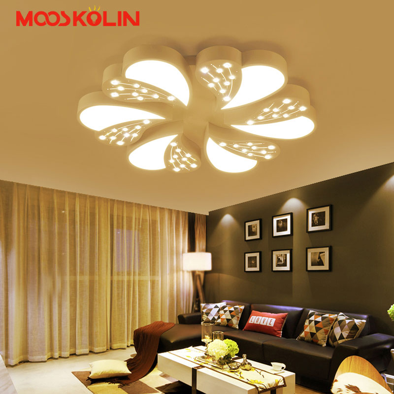 Hot K9 Crystal Led Chandeliers For Living Room Bedroom Home AC85 265V Modern Led Ceiling Chandelier Lamp Fixtures Free Shipping