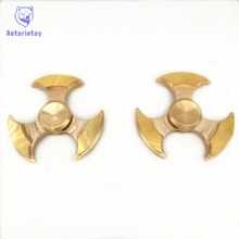 Hot EDC Toys    angle Windmill Rotator Orqbar Brass Metal Professional Fidget Spinner Autism and ADHD Hand Rotation