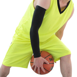 Mens sports basketball shooting cycling compression arm sleeve elbow protector pad pads support brace arm warmers.jpg 250x250