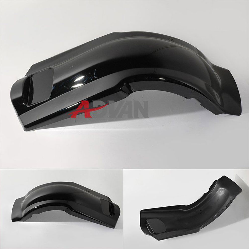 For harley touring models electra glide vivid black extended stretched fender