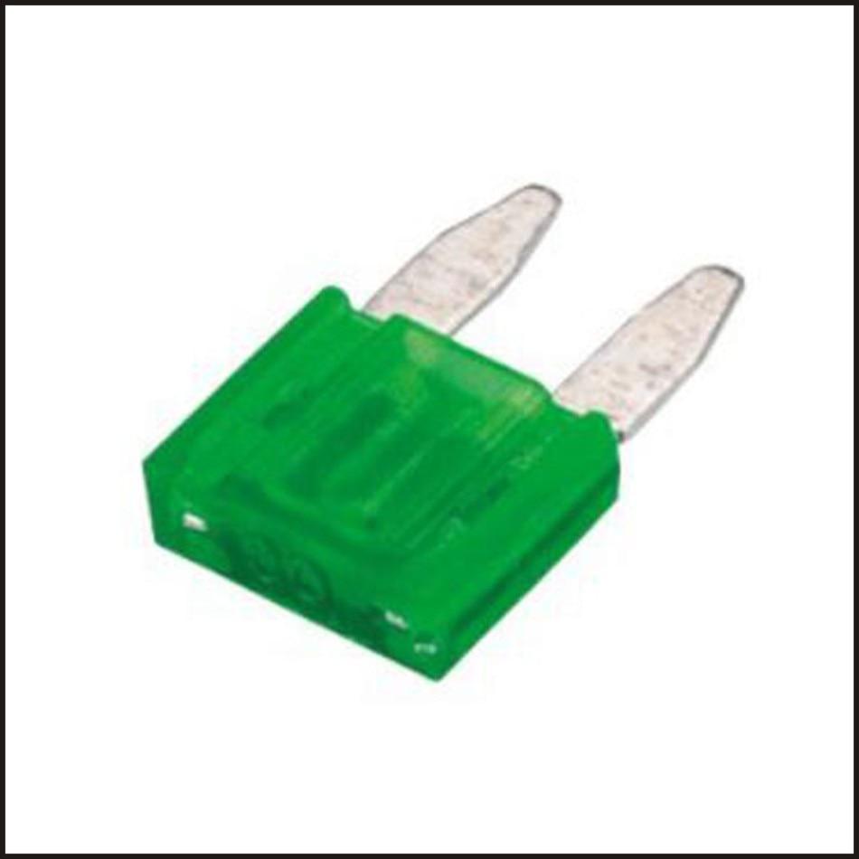 Small Size 30A Automotive fuse Low Profile Blade Type Fuses Assortment Set Auto Car Truck insurance piece kit