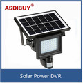720P HD Solar IP Camera CCTV Security Camera DVR Recorder PIR Motion Detection With 40 IR LEDS Solar Floodlight Street Lamp