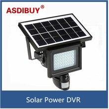 720P HD Solar IP Camera CCTV Security Camera DVR Recorder PIR Motion Detection With 40 IR LEDS Solar Floodlight Street Lamp