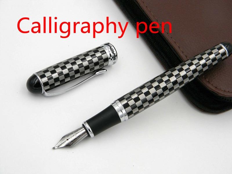 1X  Blue white porcelain Pen Prime Lacquered Broad Nib Fountain Pen、RDR