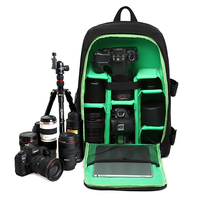 Digital Waterproof Camera Backpack Bag Padded Shoulders Photo Camera Case For Canon Nikon SONY DSLR Mochilas Fotografia Bag