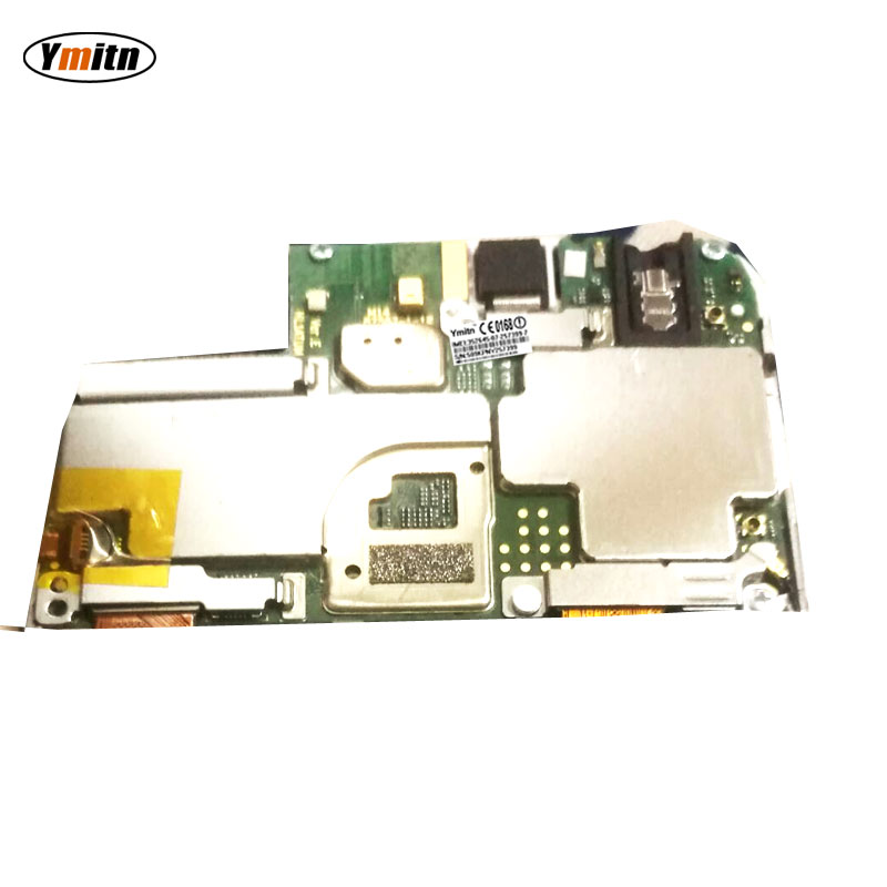 Carte mère Ymitn à panneau électronique débloqué avec des Circuits de puces câble flexible pour Huawei Honor 7a AUM-AL00 AUM-AL20