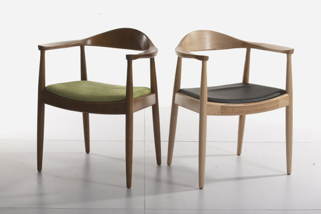 dining chair with armrest modern chairs for cheap kennidiming presidential designer fashion wood ikea computer desk
