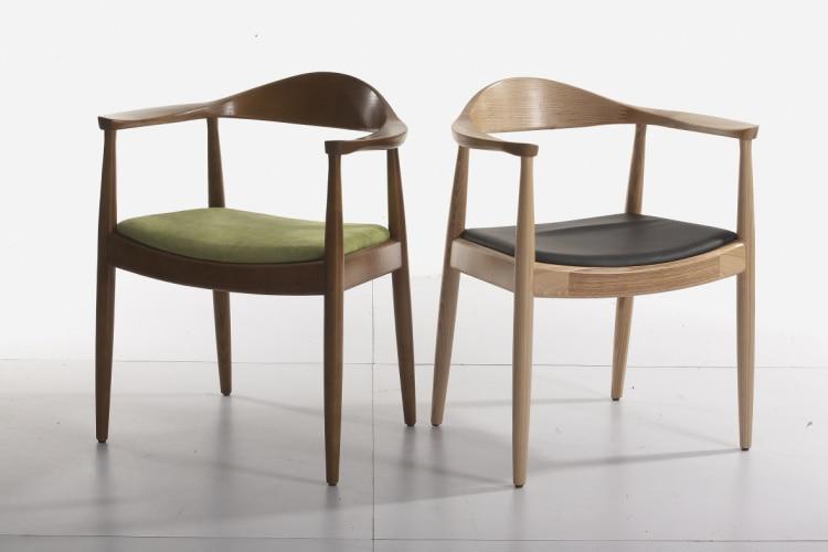 Kennidiming chaise fauteuil pr sidentiel designer mode manger en bois chaise accoudoir chaise - Ikea chaise stockholm ...