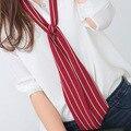 Весна лето рубашка декоративные галстуки для женщин многослойных neckchief небольшой одежды декоративные полосатый шарфы мульти шаблоны