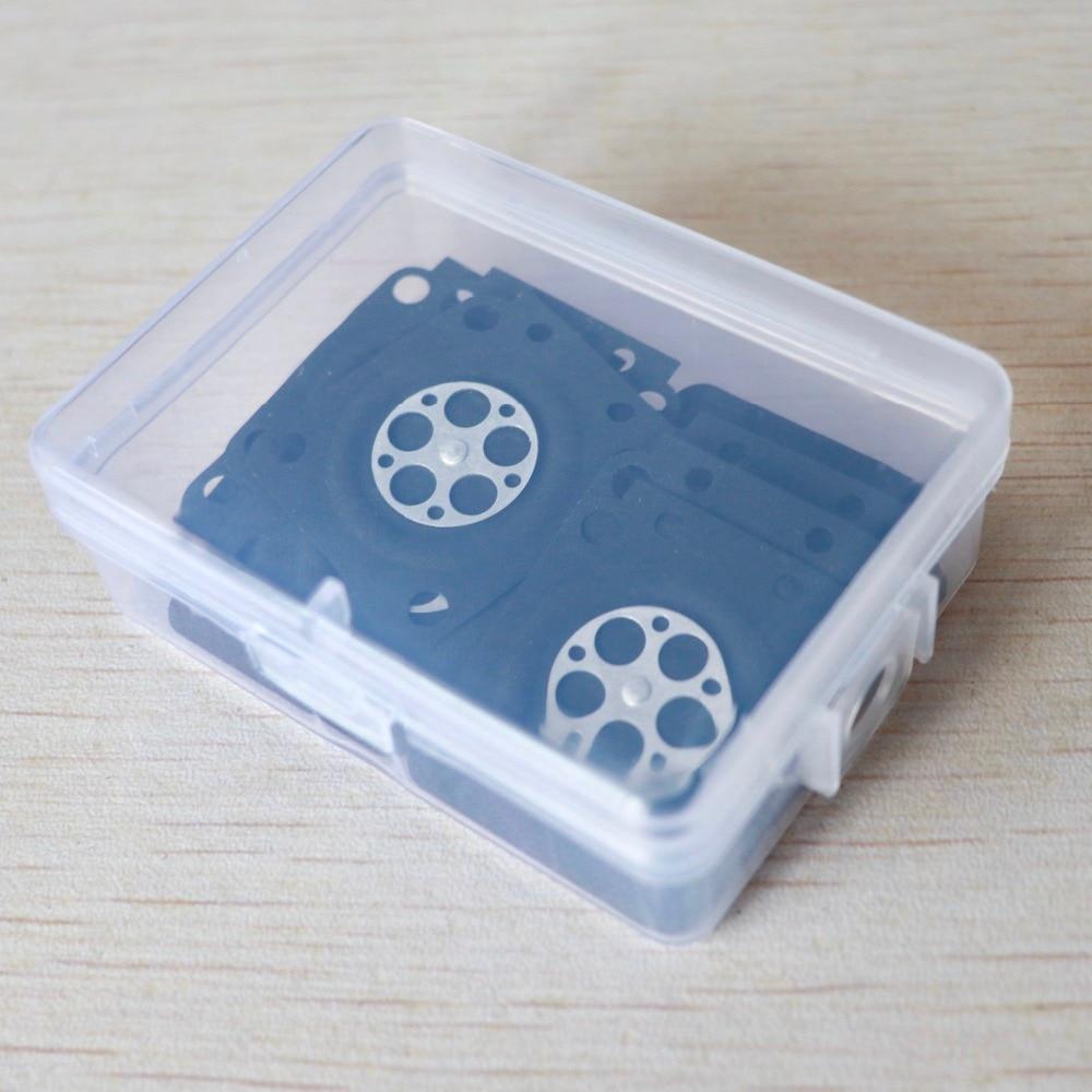 20 STK förgasare membran reparation packning utbyte passform - Trädgårdsredskap - Foto 6