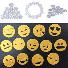 13pcs Emoji Metal Cutting Dies Stencil for Scrapboo