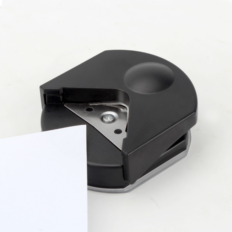 R4mm Black Rounder Round Corner Trim Paper Punch Card Photo Cartons Cutter Tool