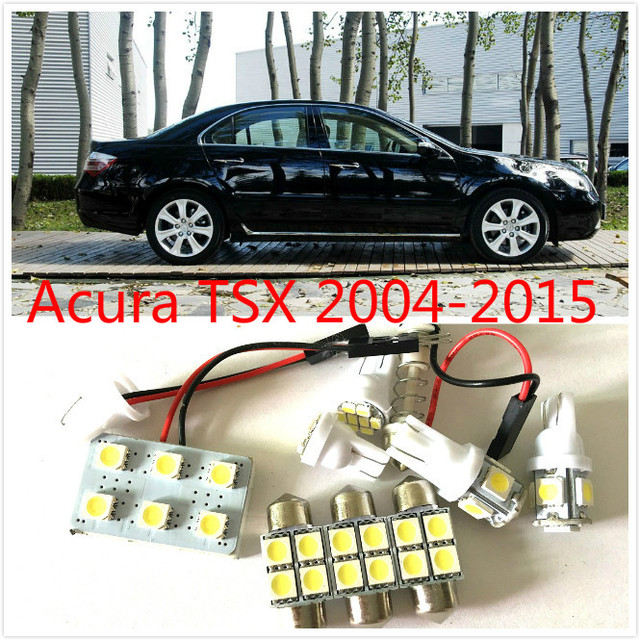 US $8 54 5% OFF 8PCS White LED Lights Interior Package Kit for Acura TSX  2004 2015-in Car Headlight Bulbs(LED) from Automobiles & Motorcycles on