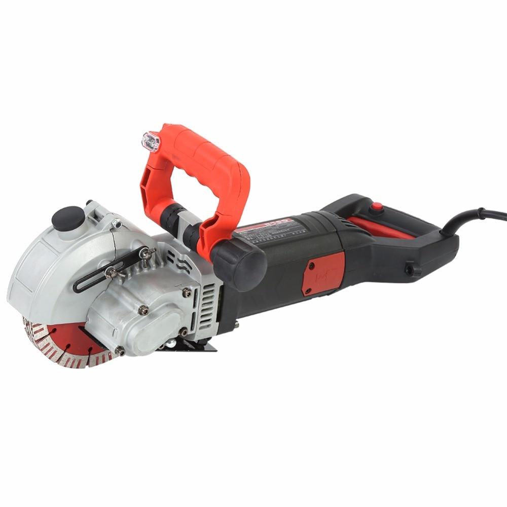 5800W Electric Wall Chaser Groove Cutting Machine Wall Slotting Machine EU UK AU Plug 220V