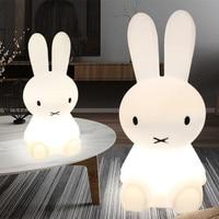 Baby LED Night Lamps 50cm Rabbit Led Night Lights Dimmable Sleep Bedroom Animal Cartoon Decorative Lamp