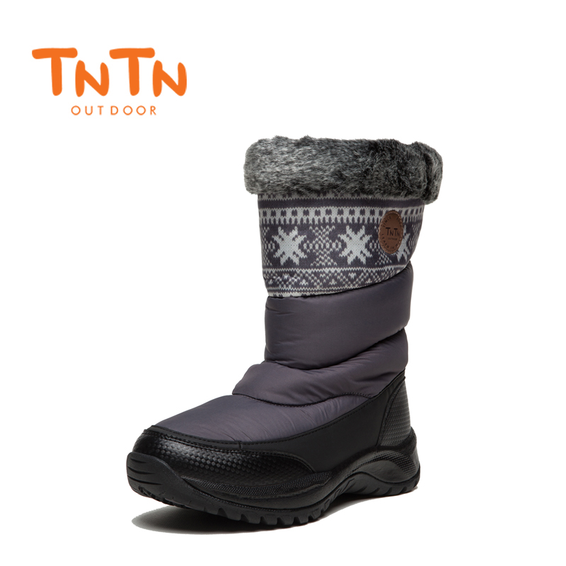 WomensS Ladies Ducks Down Warm Winter BootS Waterproof Shoes Snow Wools Skiing 100% High Quality Leisure New
