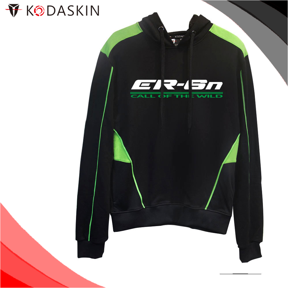 KODASKIN Men Cotton Round Neck Casual Printing Sweater Sweatershirt Hoodies for ER 6N Er6n in Jackets from Automobiles Motorcycles