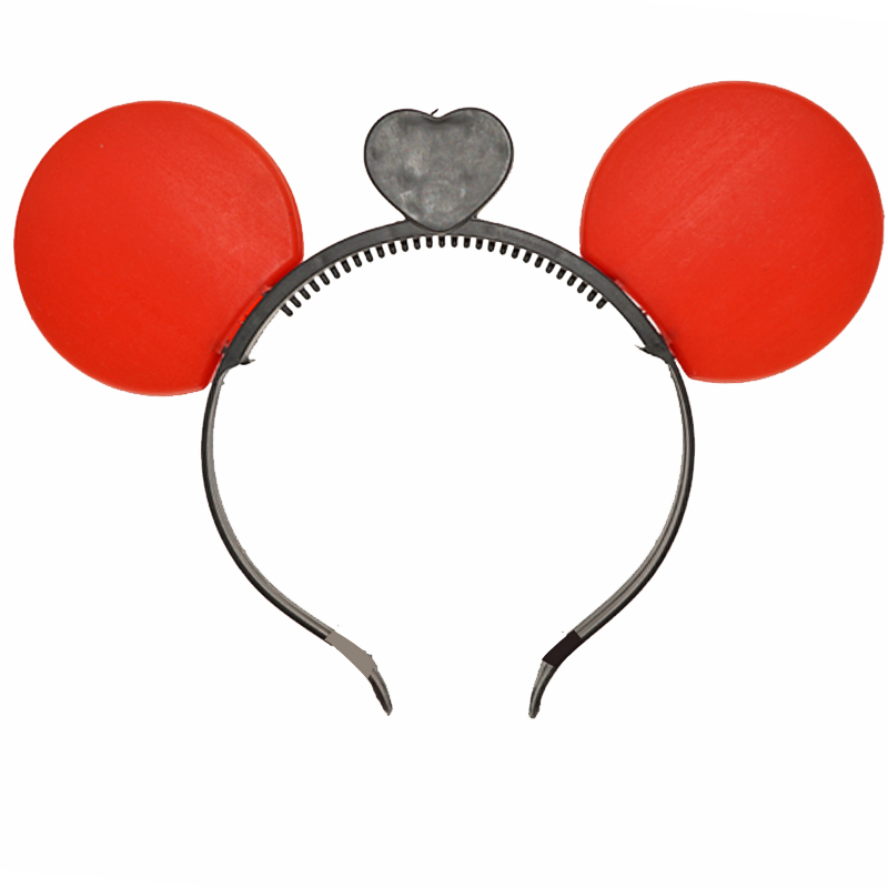 30unitslot Minnie Mickey Mouse Ears Electricity Light Up Headbands