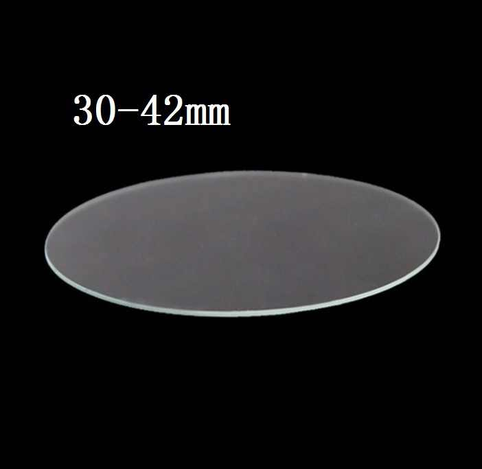 9H Tempered Glass Smart Wtach Protective Glass Film round General Dimension Anti-shatter 0.3mm 2.5D