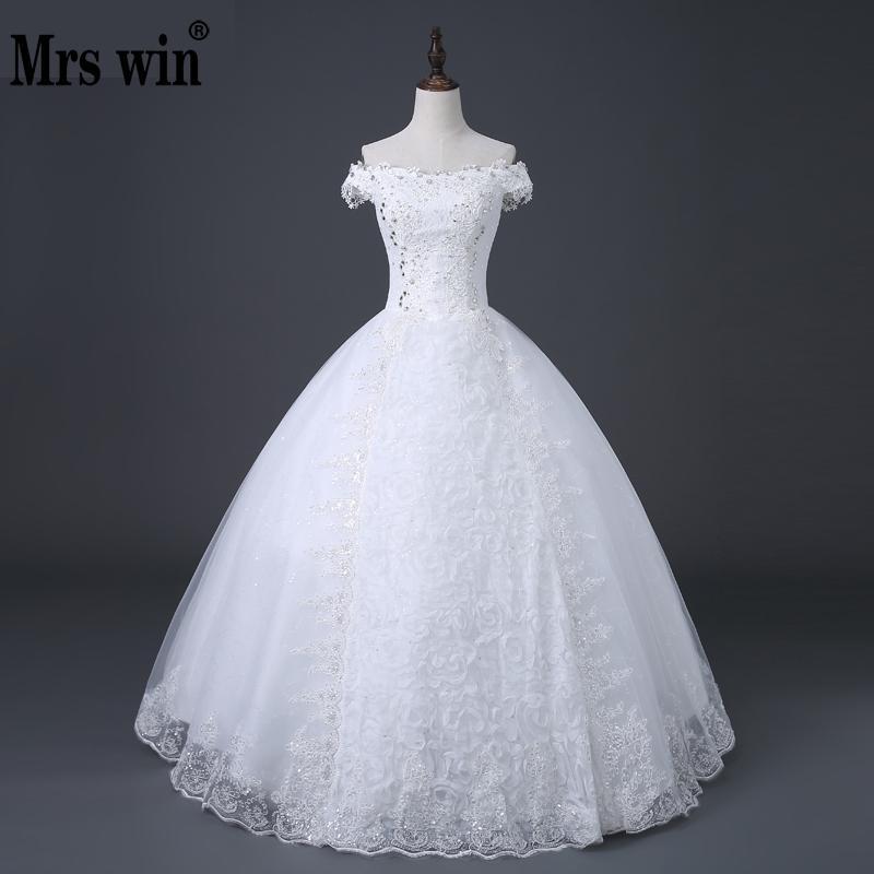 Free Shipping New Design High Quality Wedding Dress White Princess