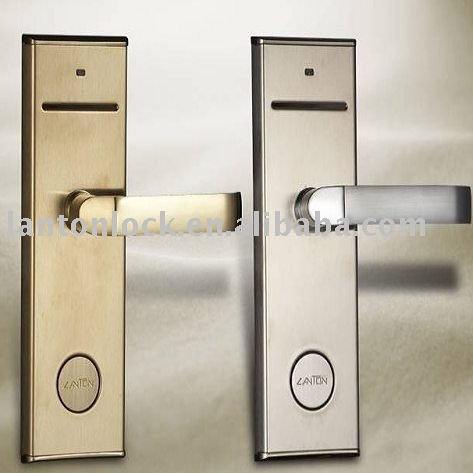 safe convenient electronic IC Hotel card lock LT-100-IC for home office hotel use